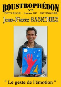 Couv Boustrophédon N°3 JP Sanchez